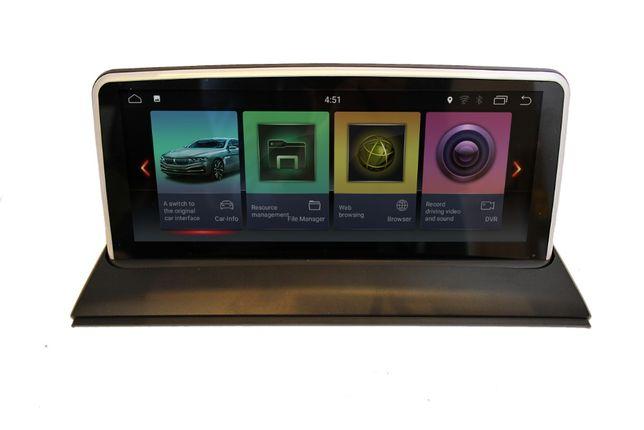 Stacja multimedialna radio nawigacja ANDROID BMW X3 E83 ekran 10,25