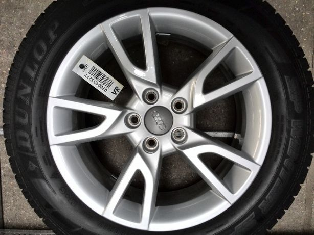 Koła aluminiowe zimowe Audi 215/60R17 Dunlop oryginał