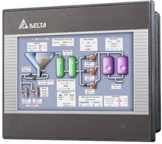 Программирование панель оператора HMI DOP-B Delta Electronics