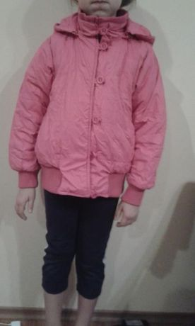 Dziewczęca kurtka coccodrillo różowa