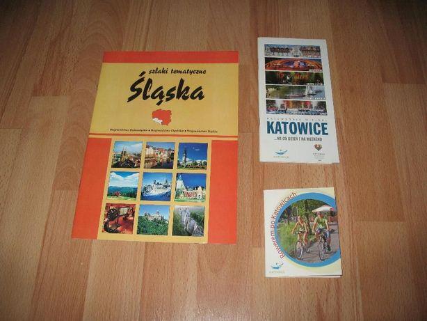 Katowice – mapka rowerowa, przewodnik i gazetka