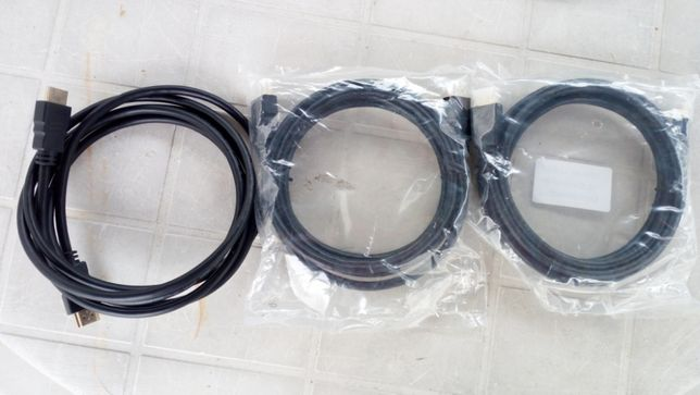 Cabos HDMI / SCART / RJ45 .