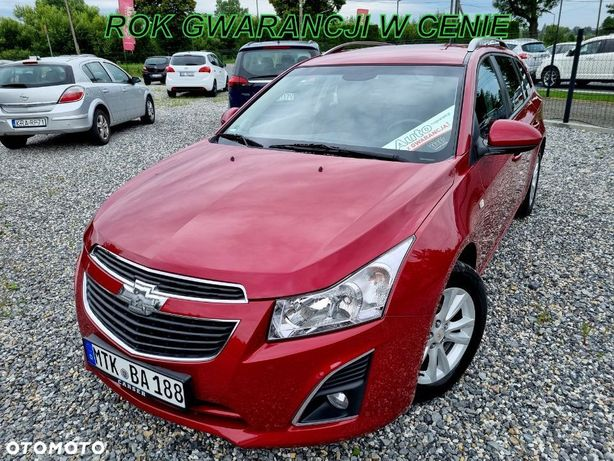 Chevrolet Cruze 1.4 140KM+Rok GWARANCJI W Cenie+Nawigacja+Kamera+Orginal+Jak Astra IV