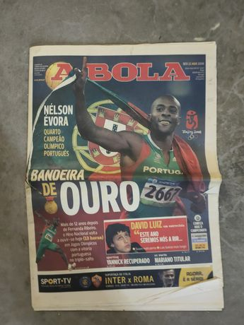 Jornal Medalha de Ouro Nelson Évora
