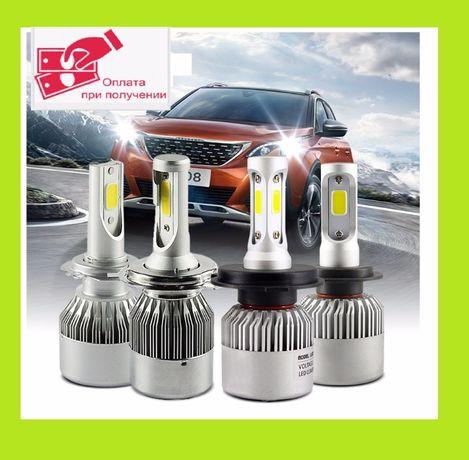 Светодиодные лампы н1н3 н4 н7 н11