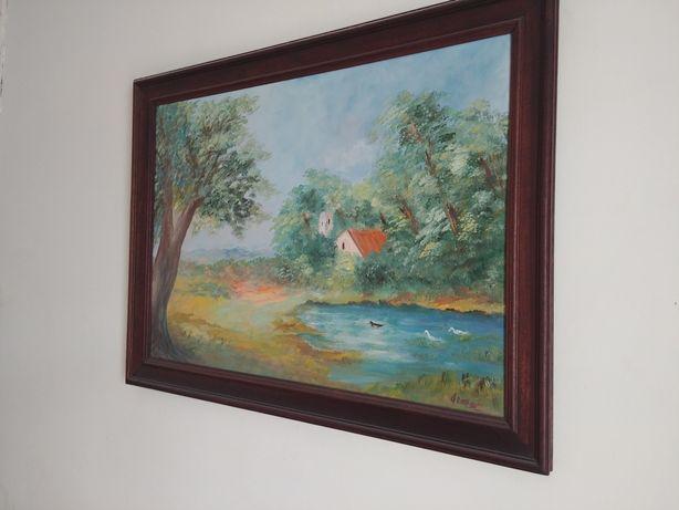 Pintura sobre madeira, autor desconhecido.