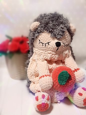 Пижамница игрушка ёж