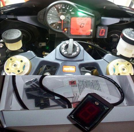 Indicador de Velocidades Digi Universal para mota ou Kart | NOVO