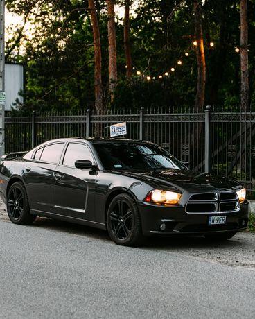 Samochód do Ślubu Dodge Charger wynajem krótkoterminowy, auto wynajem