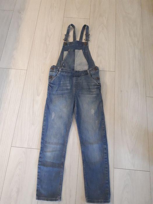 Ogrodniczki jeansowe rozm. 140 cm Gowino - image 1