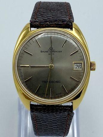 Relógio Baume & Mercier Tronosonic OURO