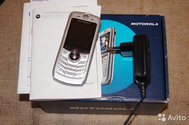 Телефон Motorola L2 (Моторола) в коробке, документы.