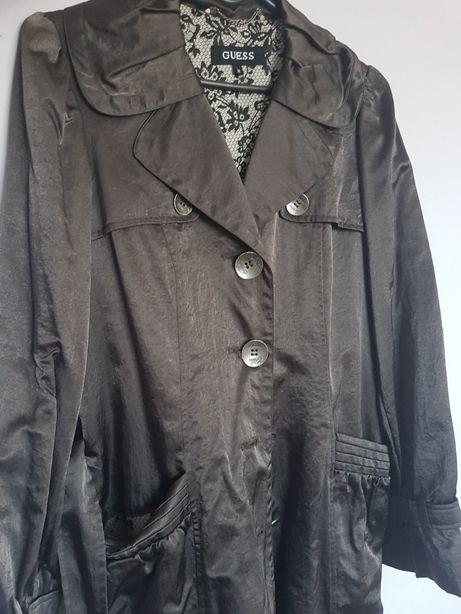 Płaszcz GUESS brązowy wiosenny