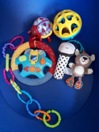 Zestaw 6 zabawek dla niemowlaka