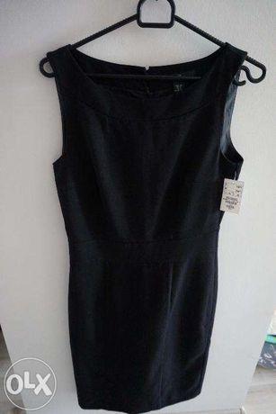 czarna sukienka nowa h&m s
