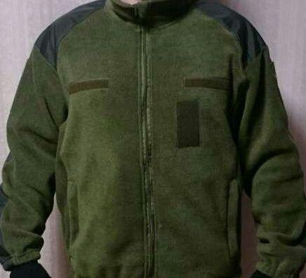 Кофта флисовая армейская Тактическая ВСУ Олива