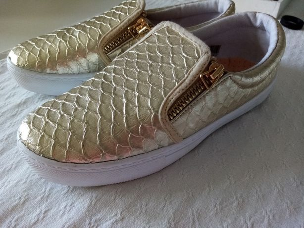 Złote buty 36 nowe
