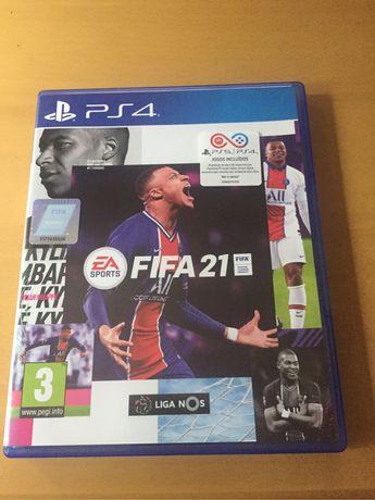 Jogo PS4 - Fifa 21