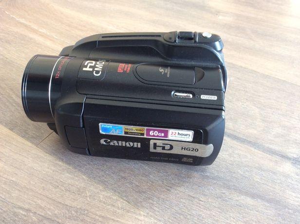 Kamera Canon HG 20 zestaw