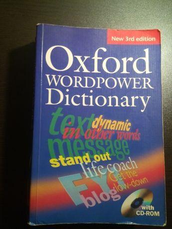 Oxford Wordpower Dictionary - Dicionário Língua Inglesa / Inglês