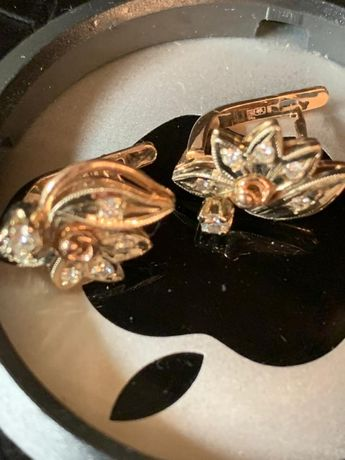 сережки,бриллианты!