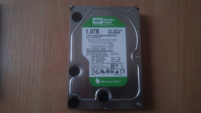 "Б/В 112 Жорсткий диск Western Digital 1000GB 5400rpm 32MB 3.5"" SATAII"