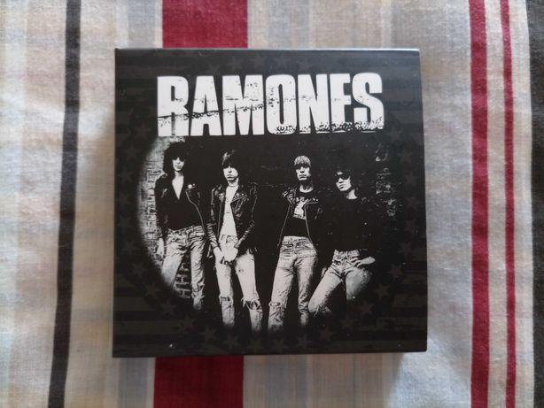 Conjunto 4 coasters (base para copos) Ramones