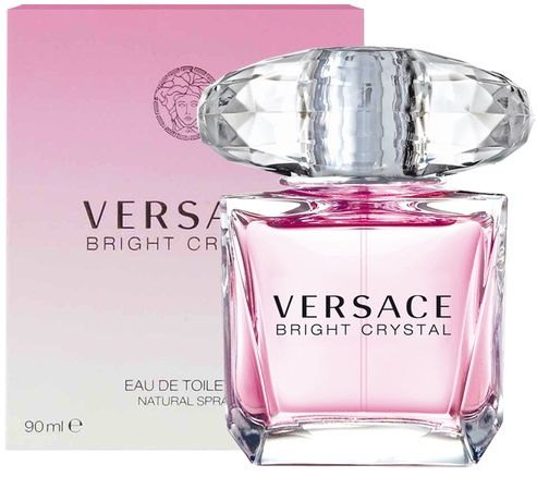 Versace Bright Crystal Woman. Perfumy damskie. EDT 90 ml.