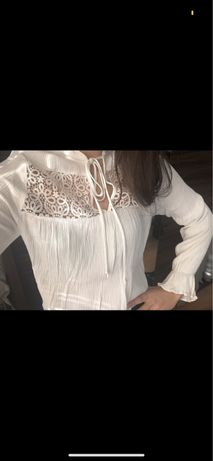 Bluzka/ koszula boho h&m