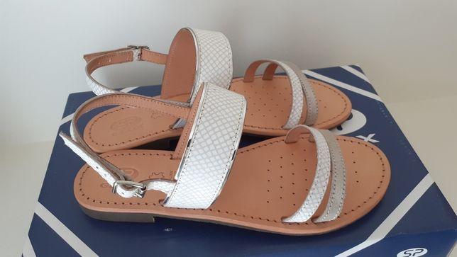 Geox skórzane sandały 36
