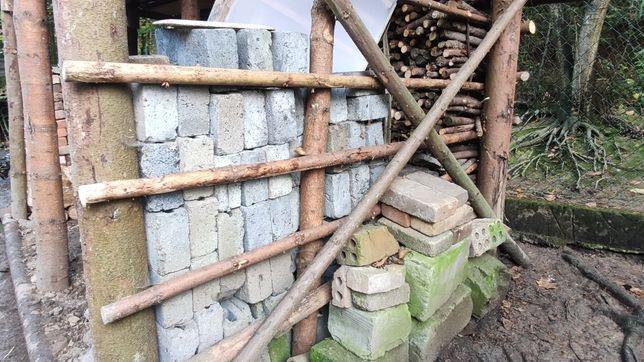 Pustaki żużlowe - połówki, cegły