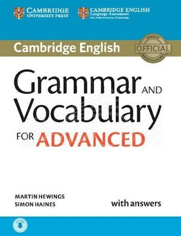 Cambridge English: Grammar and Vocabulary for Advanced with answers