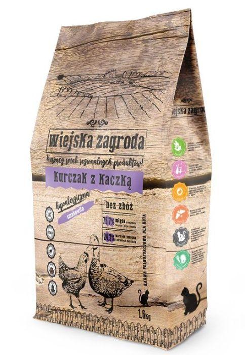 Wiejska Zagroda Kurczak z Kaczką 1,6kg karma dla kota Kielce - image 1