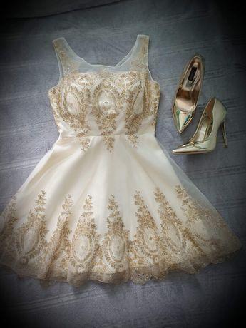Sukienka suknia wieczorowa balowa buty szpilki. Dowóz Gratis