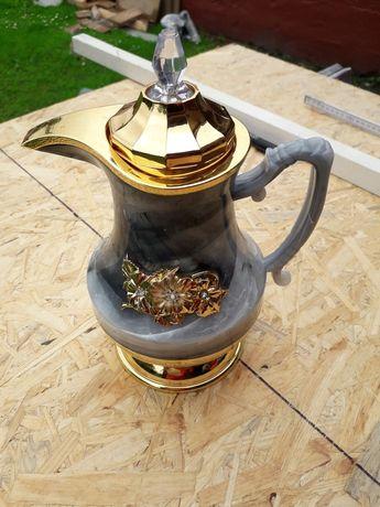 Dzbanek termos 0.6 l na kawe herbatę elegancki nowy