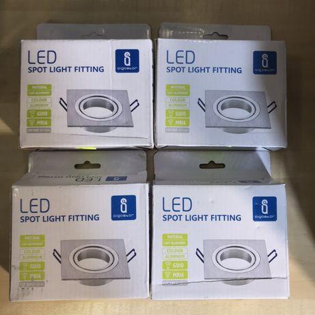 Conjunto foco para teto led Spot Light Fitting aluminio Aigostar - Nov