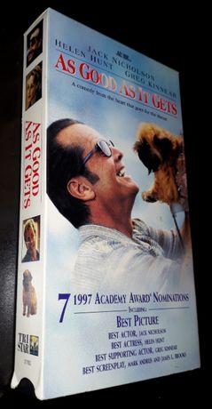 "VHS ""As Good As It Gets"" com Jack Nicholson"