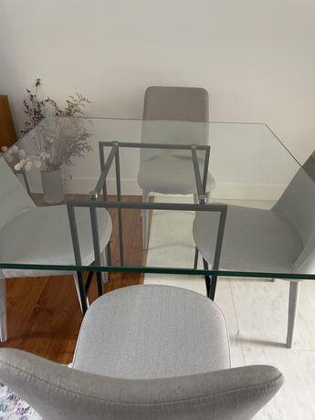 Mesa de jantar 110x110