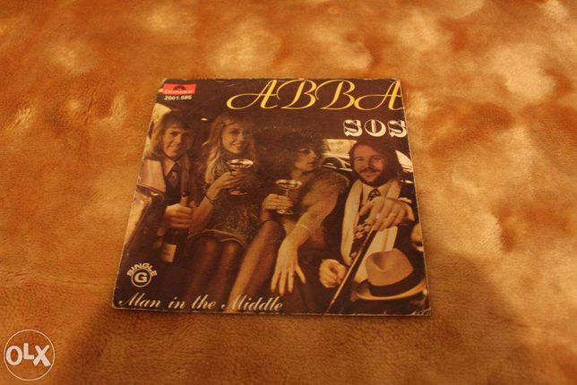 ABBA - Disco Vinil - SOS and Man in the Middle