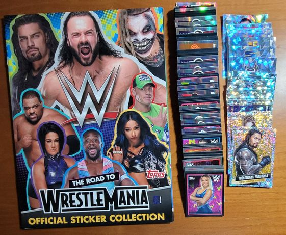 Topps - The Road To - Wrestle Mania