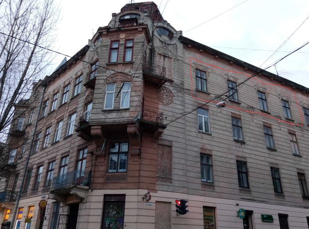Продаж 3-кім.кв.вул.І.Франка,центр,хороше планув.,прав.вхід