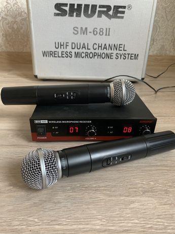 Микрофоны Shure SM - 68-2