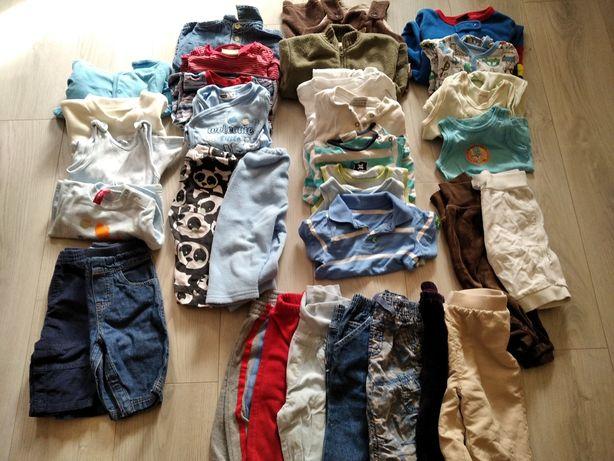 Ubranka chłopięce rozmiar 62-68
