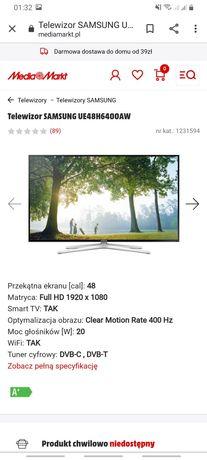 """Samsung UE48H6400AW..48"""".SMART TV..3D"""