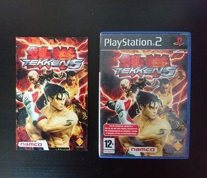 Tekken 5 gra PS2/Playstation 2 wydanie PL - 100 % sprawna