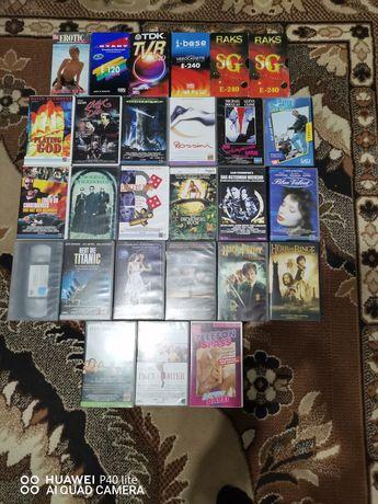27 kaset z filmami