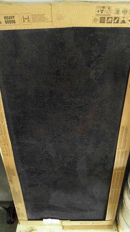 Płytki ścienne podłogowe terakota Quenos Graphite Lappato 59,8x119,8