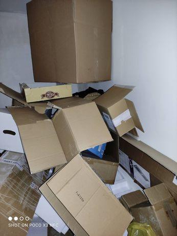 Kartony, folia bąbelkowy, stretch, wypełniacze