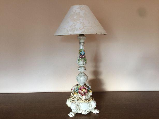 Stylowa Lampka Nocna Ceramika
