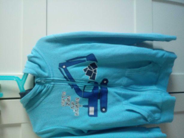 Bluza z kapturem 128 cm
